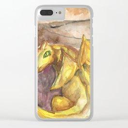 dragon cavern Clear iPhone Case