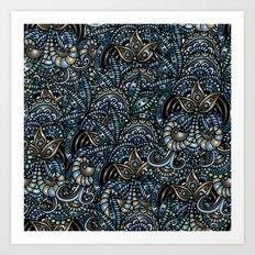 abstraction Art Print