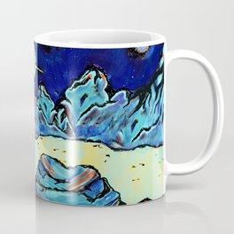 REACHING OUT TO FEEL THE NIGHT Coffee Mug
