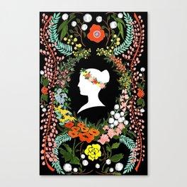 Language of Flowers  Canvas Print
