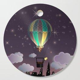Balloon Aeronautics Night Cutting Board