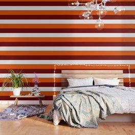 TEAM COLORS 8...Maroon , orange white Wallpaper