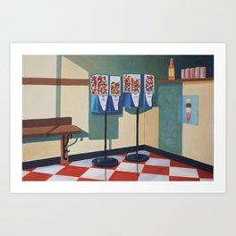 Gumball Machines  Art Print