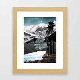 Not my moms tits. Framed Art Print