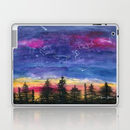 The Zodiac over Sequoia Laptop & iPad Skin