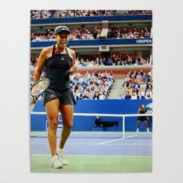 Naomi Osaka Tennis Champion Poster