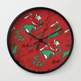 Santa Express Wall Clock