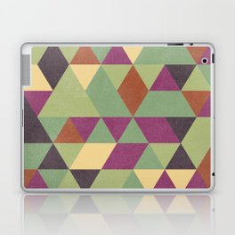 TRIANGLES geometric print Laptop & iPad Skin