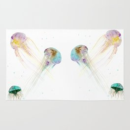 Jellyfishes Rug