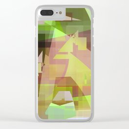 shock wave Clear iPhone Case
