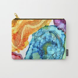 Agate Slices and Geodes Carry-All Pouch