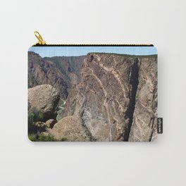 Painted Black Canyon of the Gunnison Walls Carry-All Pouch