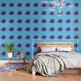 Snek 4 Snake Purple Blue Wallpaper
