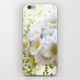 Bouquet of daisies in LOVE - Flower Flowers Daisy iPhone Skin