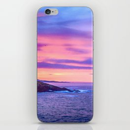 Biscay Bay sunset iPhone Skin