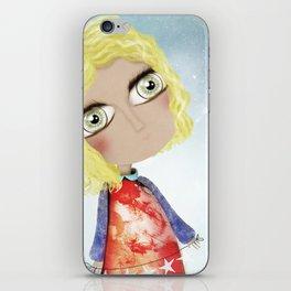 Kids Illustration Sky Stars Doll - Australia Home Decor - Clothing - Ruth Fitta-Schulz Art 2018 iPhone Skin