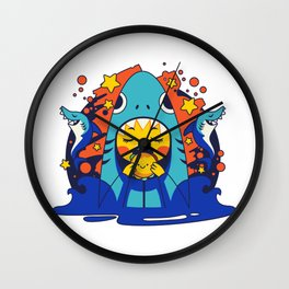 Overbite: Jawbreaker 3 Wall Clock