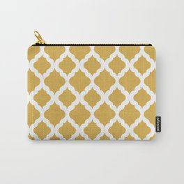 Yellow rombs Carry-All Pouch