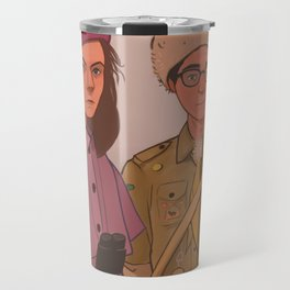 Sam and Suzy (Moonrise Kingdom by Wes Anderson) Travel Mug