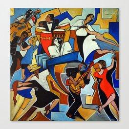 Salsa Salvaje Canvas Print