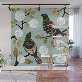 Winterbirds Wall Mural