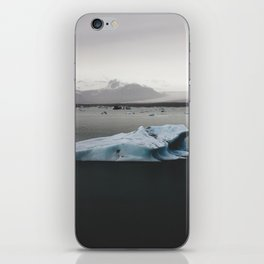 Blue Ice iPhone Skin