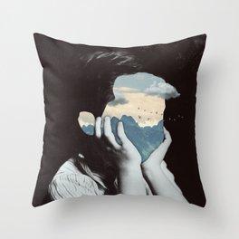 Deepness Throw Pillow