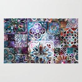 Celestial Tile Pattern Rug