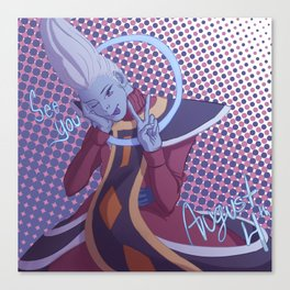 More Whis Coming to NA Soon (with text) Canvas Print