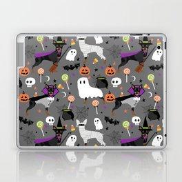 Min Pin halloween miniature doberman pinscher cute dog breed gifts Laptop & iPad Skin