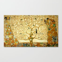 Gustav Klimt The Tree Of Life Canvas Print