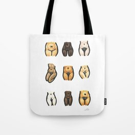Express Yourself (colour) Tote Bag