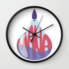 Mana Potion Wall Clock