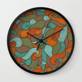 Storm pattern Wall Clock