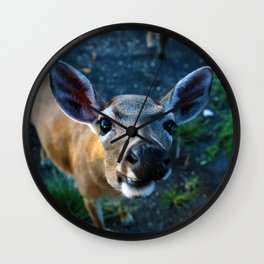 Key Deer Wall Clock