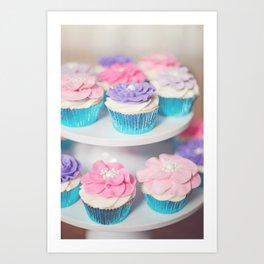 FC08 Cupcakes Art Print