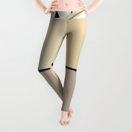 Toned Down - small triangle graphic Leggings