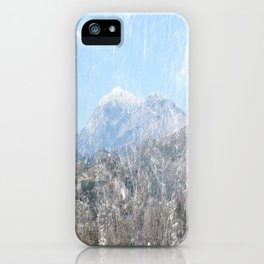 Snow-capped Mountains iPhone Case