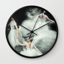 Ghost Dance, Vintage Ballet Wall Clock