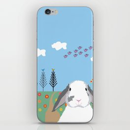 Jokke, The Rabbit iPhone Skin
