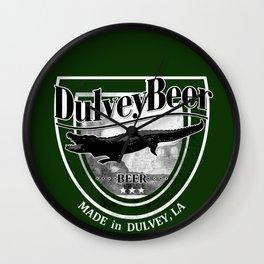 Dulvey Beer - Resident Evil 7 Biohazard Wall Clock