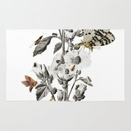 Insect Toile Rug