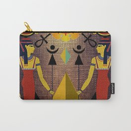 Hathor under the eyes of Ra -Egyptian Gods and Goddesses Carry-All Pouch