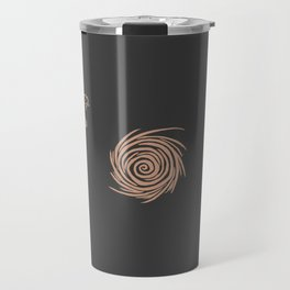Map of Classic WoW - Vanilla Azeroth (Charcoal) Travel Mug
