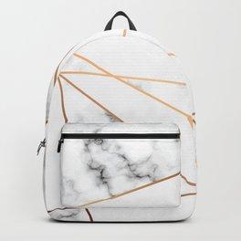 Marble Geometry 054 Backpack