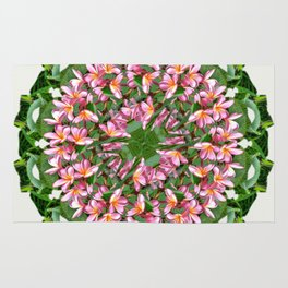the tropical mandala Rug