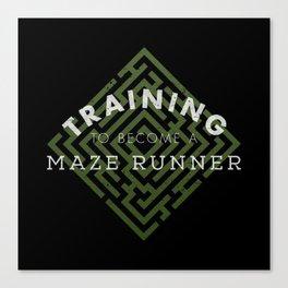 Training: Maze Runner Canvas Print