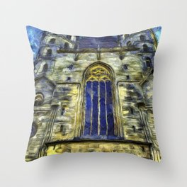 St Stephens Cathedral Vienna Van Goth Throw Pillow