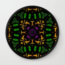 Secondary Kaleidoscope 2 Wall Clock