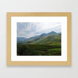 Valley Time 2 Framed Art Print